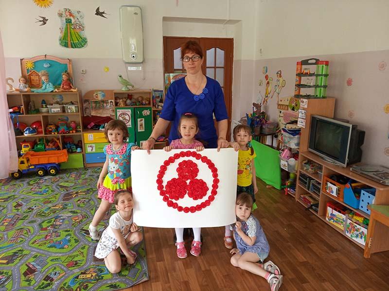 Детский сад общеразвивающего вида  № 12 г. Слюдянки, тоже принял участие в Дне Культуры